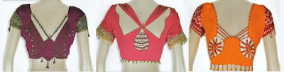 Blouse back designs collection