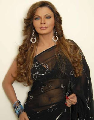 Bollywood Actress in Saree Rakhi Sawant