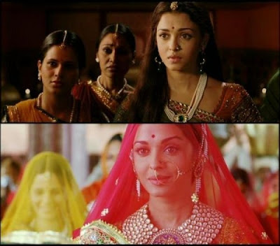 Aishwarya Rai Indian Ethnic Wear - Stills from Jodha Akbar Movie