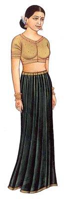how to wear saree