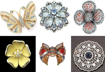brooches saree accessories