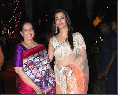 Vrinda Rai and Aishwarya Rai - great women achiever awards