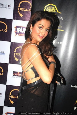 Bollywood actress in saree Amrita Arora