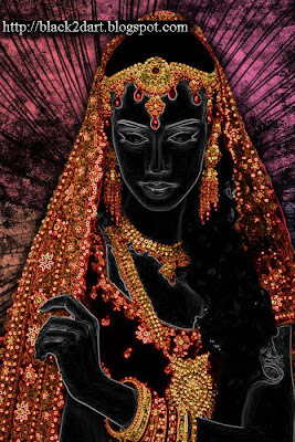 Photoshop art of Indian Bride