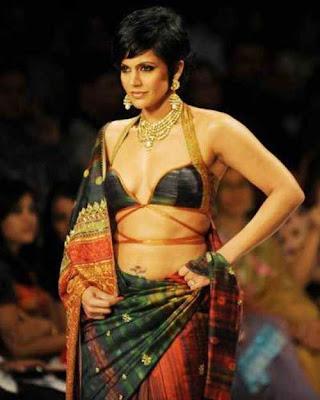 Mandira Bedi walks the Ramp at Kolkata Fashion Week