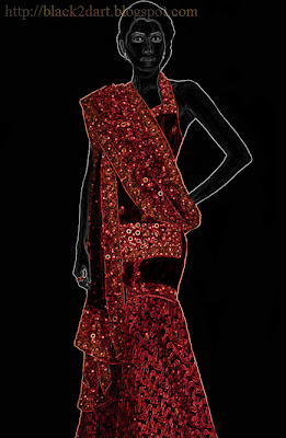 Designer Lehenga Sari