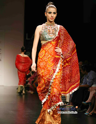 Anita Dongre Collection at Lakme Fashion Week 2010