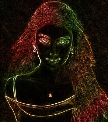 aishwarya black 2dart image