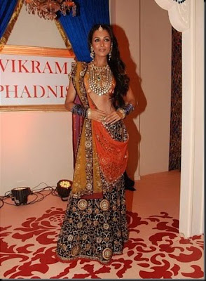 Malaika Arora walks the ramp for Shagun Vikram Phadnis