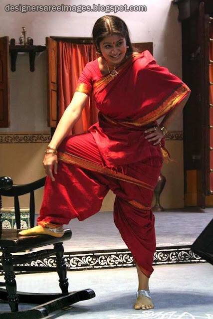 Actress Sangeetha in Handloom Cotton Saree photo
