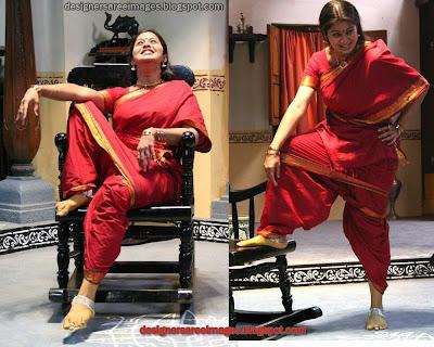 Actress Sangeetha in Handloom Cotton Saree image