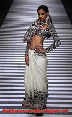 Reynu Tandon Designer Saree