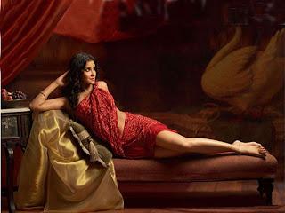 Hot Spicy Bollywood Saree Stills of Nandana Sen