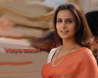 Bollywood Actress Vidya Balan saree picture Gallery