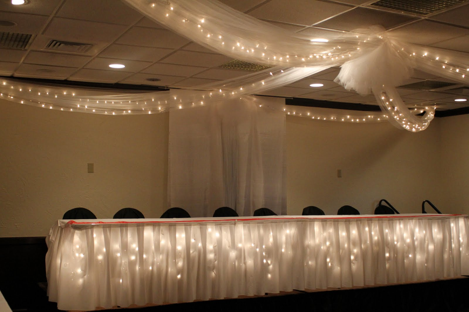 Ceiling Decor Toledo Wedding Planner Perrysburg Wedding Planner