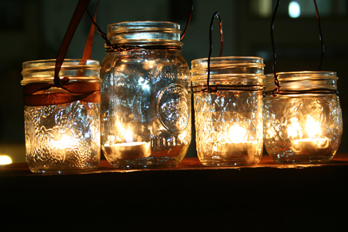 Jars as Lanterns