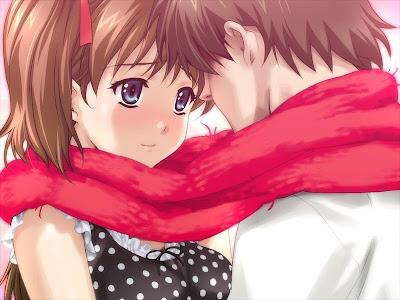 anime love kiss