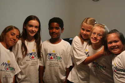 Summer Piano Camp 2009