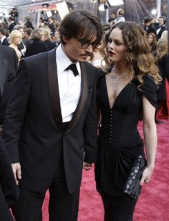 Johnny Depp e Vanessa Paradis