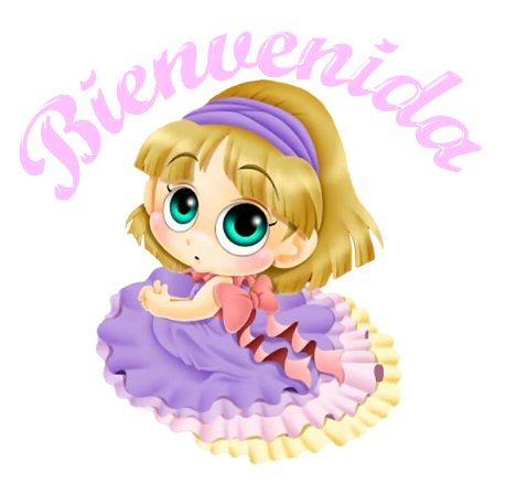 hola me llamo Yolanda Bienvenidaa+cre