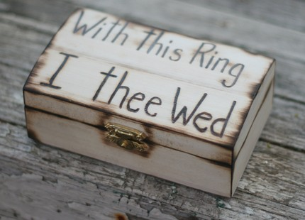 click here to buy this item - With This Ring I Thee Wed
