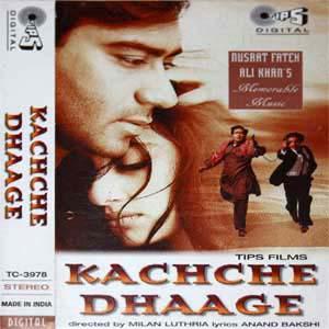 Kachche Dhaage (1999) SL DM - Ajay Devgan, Saif Ali Khan, Manisha Koirala, Namrata Shirodkar, Sadashiv Amrapurkar, Govind Namdeo, Annu Kapoor, Mahavir Shah, Ishrat Ali, Rajeev Verma