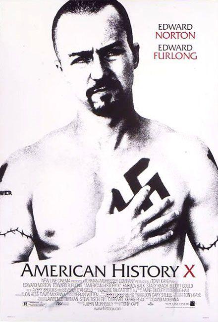 american history x tattoos. American History X (1998)