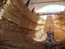 Galeón Andalucía (en construcción)