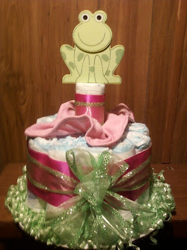 Froggy Cake for a Girl