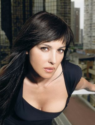 monica bellucci without makeup