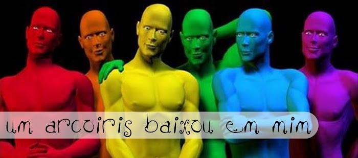 UM ARCO-IRIS BAIXOU EM MIM