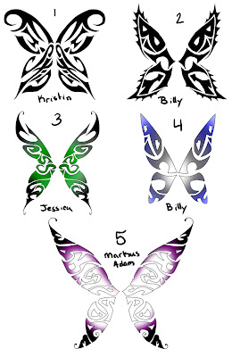 Design Butterfly tattoos