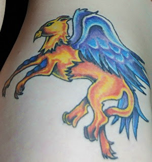 Griffin Tattoo Design