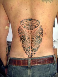 Tribal Tattoo- Back Tattoo