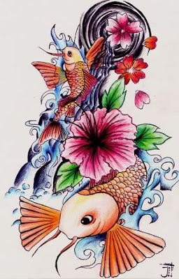 Japanese tattoo design and get ready to get words of praises for your