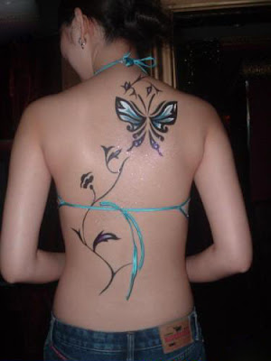 We've all seen tattoos of butterflies. There are the delicate, small,