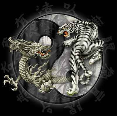 Labels: Yin Yang Pisces Tattoo ying yang tiger dragon