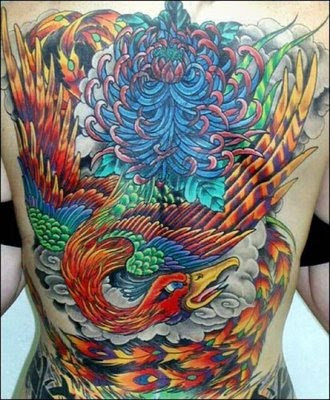 Japanese Phoenix Tattoo Design. As a tattoo design, the phoenix is probably