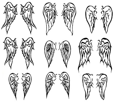 Cross Tattoo  Wings on Tattoo Body Art Gallery  Wings Tattoo Designs