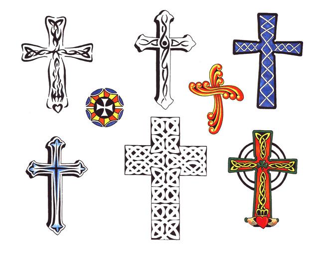 tattoo designs cross. hot Cross Tattoo Design for