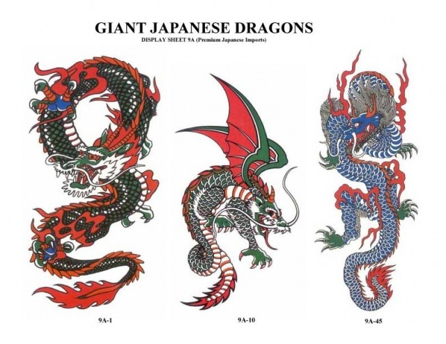 Dragon tattoos are one of the most popular designs all over the world.