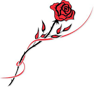 Red Rose Tattoo Design - Tattoos For Girls