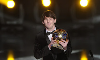 Lionel Messi FIFA ballon d'or