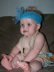 Josey in pearls