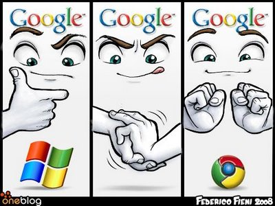 chrome logo funny