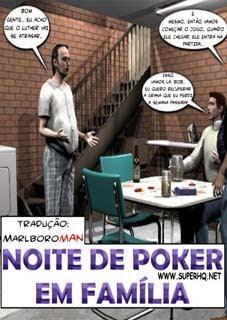 3D - NOITE DE POKER EM FAMÍLIA