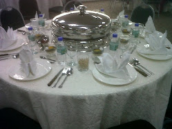 Table Setting VIP & Top Catering for Malay Food - Puchong JM Bariani