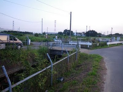 中島用水路から黒沼用水への分岐点