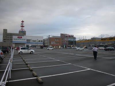 アンテナのビルは福井放送