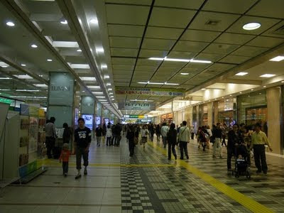 The concourse of Omiya Station